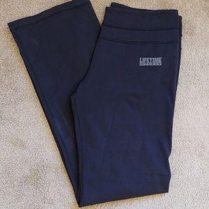 Lululemon lifetime fitness yoga flare pants Sz 10